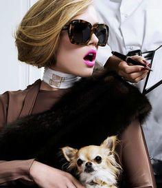 Chic Lady # www.bollicinedistile.com