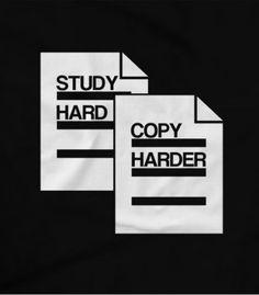 Study Hard Copy Harder Pinoy Funny T-shirts Bisaya Quotes, Exam Quotes Funny, Filipino Memes, Filipino Funny, Memes Tagalog, Study Hard, One Liner, School Memes, Life Humor