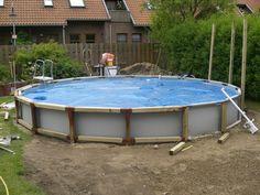 Popular Intex Frame Pool in Erde einlassen