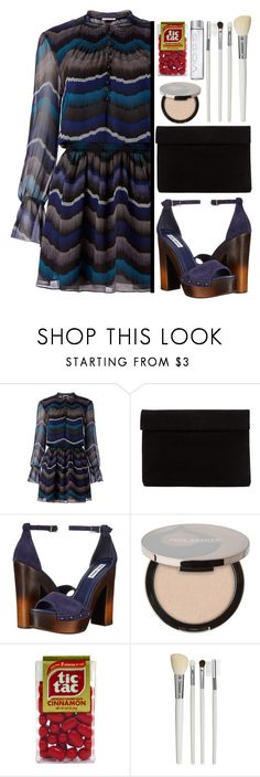 """""""Party On: Long Sleeve Dresses"""" by aguniaaa ❤ liked on Polyvore featuring Diane Von Furstenberg, Steve Madden, Juice Beauty, Cath Kidston and longsleeve"""