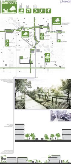 Ecological relationalism [Urban Design Proposal] by Daniel Nelson, via Behance - Architecture Design Ideas Architecture Presentation Board, Presentation Layout, Presentation Boards, Project Presentation, Architectural Presentation, Architectural Models, Architectural Drawings, A As Architecture, Architecture Graphics