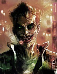 Interesting take on the Joker Le Joker Batman, Der Joker, Joker Comic, Joker And Harley Quinn, Nightwing, Batwoman, Joker Images, Joker Pics, Dc Comics
