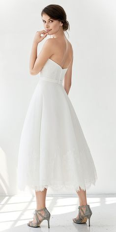 Weddings & Events Cheap Price 2017 Vintage 1960s Short Ball Gown Sleeveless Blushing Tea Length Informal Reception Wedding Dress Sexy Open Back Bridal Gown To Have A Unique National Style