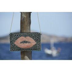 Labee-a-Porter bag, Josy:  lips