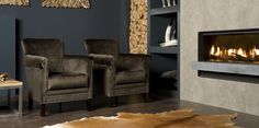 UrbanSofa Cotton Club fauteuil met nagels
