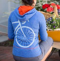 Women's Apres Velo Hoodie | Terry Bicycles. Must make.