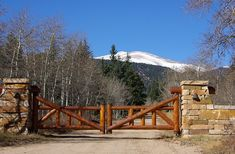 ranch gates | Up the road is a recording studio which has been used by the likes of ...