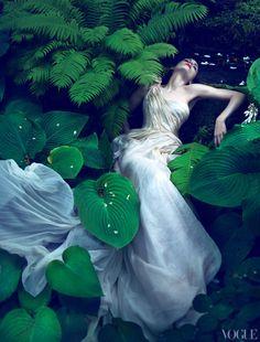 Rooney Mara by Mert & Marcus for Vogue US November 2011.