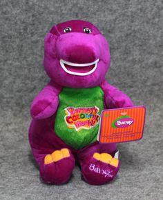 "Barney Friends purple dinosaur plush toy stuffed kids child gift 30cm 11.8"" NEW"