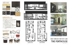 Chicago Motor Club - The Penthouse - Presentation Board