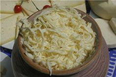 Delicacy of  #Samtskhe-Javakheti, - cheese Meskhuri Tenili.