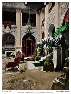 Lynnewood Hall - colorized by me