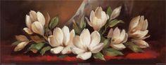 Magnolia Blossoms I