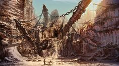 mining concept art - Google Search