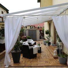 Pergola Patio, Outdoor Decor, Gardens, House, Inspiration, Summer, Home Decor, Biblical Inspiration, Summer Time