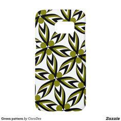 Green #pattern #samsung #galaxy s7 case #zazzle http://www.zazzle.com/green_pattern_samsung_galaxy_s7_case-179136039796594815