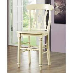 Maybe: 24 inch seat. Clifton Elegance Set of 2  Item#: HN-HME1965 - White