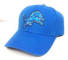 new DETROIT LIONS HAT High-Quality WOOL BLEND Light Blue Reebok Men/Women NFL  #Reebok #BaseballCap #DetroitLions