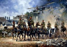 The Royal Canadian Horse Artillery, World War One.