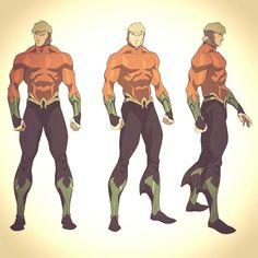 New generation Aqua Man