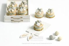 Miniature Cakes ♡ ♡Paris By Petit D'licious