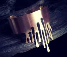 Paint Drip Cuff - Appeal to your artistic side with this dripping paint cuff.