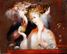 Anne Bachelier:  The Flower of Dreams, 26 x 32