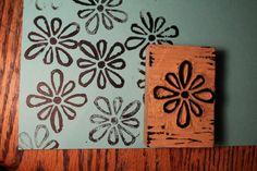 Linoleum Block Printing - 52 Weeks Project
