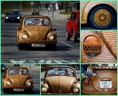 This 71-year-old bosnian retiree has crafted a completely wooden volkswagen beetle exterior from over 50,000 pieces of hand-carved oak!  BTW we found this over at: http://www.ibtimes.co.uk/wooden-vw-beetle-made-by-bosnian-pensioner-1446618