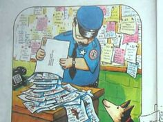 YouTube-officer buckle.  This book is perfect to talk about school rules.