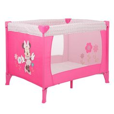 Minnie pack n play Baby Dolls For Kids, Kids Toys For Boys, Reborn Toddler Dolls, Baby Girl Dolls, Girls Toys, Baby Girls, Minnie Mouse Nursery, Baby Doll Nursery, Babies Nursery