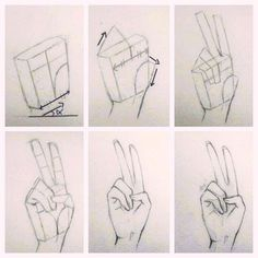 Drawing Techniques Drawing-Tutorial-for-Occasional-Artists - While there are tons of things out there to draw, it is not simple always. However, these Drawing Tutorial for Occasional Artists will help you out. Pencil Art Drawings, Art Drawings Sketches, Easy Drawings, Hand Drawing Reference, Art Reference Poses, Drawing Techniques, Drawing Tips, Drawing Ideas, Drawing Hands