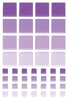 Sticko Tiles Play Stickers-Purple Squares Mosaic -- For more information, visit image link.