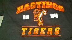 Hastings High School Tigers - Hastings, NE - t-shirt - design - screen print - Kearney, NE - Shirt Shack