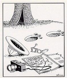 """The Far Side"" by Gary Larson. Far Side Cartoons, Far Side Comics, List Of Animals, Animal List, Funny Art, Funny Jokes, Gary Larson Far Side, The Far Side, Classic Comics"