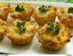 Czech Recipes, Ethnic Recipes, Frittata, Baked Potato, Cauliflower, Healthy Life, Paleo, Food And Drink, Low Carb