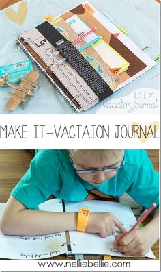 Make It: Vacation Journal/Bucket List with free printables!