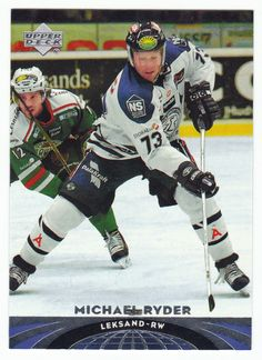 Michael Ryder # 59 - 2004-05 Upper Deck All World Hockey