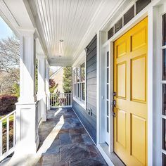 This yellow door has us hooked and the flagstone patio is a bonus!   For Sale: 6105 Melvern Dr $1499000 6 BR | 4 FB | 1 HB | 5300 SF Listed by Lauren Hatten & Katherine Epperson  301.996.5592  301.646.6795  #bethesdagatewaylistings #homesforsale #realestate #milliondollarlisting #maryland #bethesda #justlisted #luxury #flagstonepatio #longandfoster #hintofyellow #yellowfrontdoor