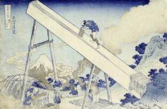 Katsushika Hokusai - In The Totomi Mountains