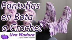 Pantuflas en Bota a Crochet Ganchillo Paso a Paso  Mira el paso a paso de estas lindas #pantuflas en #bota a #crochet #Ganchillo Paso a Paso  #Pantuflas #Slippers #CrochetPantuflas #CrochetSlippers #Zapatos #Shoes #CrochetZapatos #CrochetShoes #Wemakecollective #Tigisi #Knitlife #Virkkaus #Colourfullife #Cottonyarn #Crochetart #Crochetinspiration #Crocheterapia #Hechoamano #Handmade #Hechoconamor #Crochemoderno #Handknitting #Ganchillera #Crochetersofinsta #DIY Crochet Shoes, Crochet Art, Crochet Slippers, Love Crochet, Crochet Designs, Hand Knitting, Handmade, Gifs, Socks
