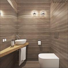 Nice tile on walls. Corner Sink Bathroom Small, Pool Bathroom, Downstairs Bathroom, Bathroom Renos, Modern Bathroom Design, Bathroom Interior Design, Interior Design Living Room, Wc Design, My Home Design