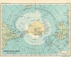 Antarctica maps are so beautiful.