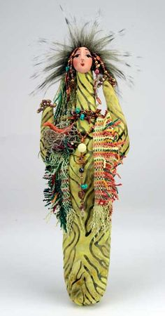 Akule, Cactus Flower Woman by Gretchen Lima