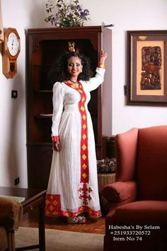 Awesome African Traditional Wedding Dress Habesha... Check more at http://24myshop.ml/my-desires/african-traditional-wedding-dress-habesha/
