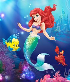 Little Mermaid by Disney Princess | DecalGirl
