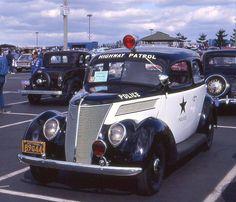 1937 Ford Tudor Police Car
