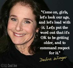 Debra Winger quote