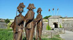 la garde du château d'oléron