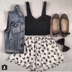 good for you ladies who love to look girly tomboyish but never too much and not toooo casual but definitely a tad bit and still on spot trendy this is perfect for you mysterious ladies<3
